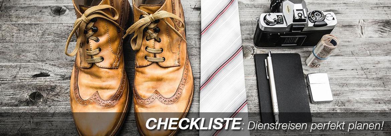 Checkliste Geschäftsreisen